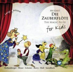 DIE ZAUBERFLOTE THE MAGIC FLUTE FOR KIDS VARIOUS ARTISTS