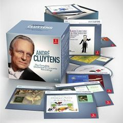ANDRE CLUYTENS / THE COMPLETE ORCHESTRAL AND CONCERTO RECORDINGS - 65CD