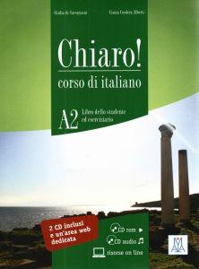 CHIARO CORSO DI ITALIANO A2   CD