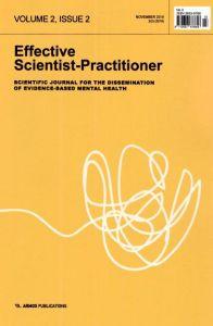 EFFECTIVE SCIENTIST PRACTITIONET VOLUME 2 ISSUE 2