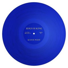 KANYE WEST / JESUS IS KING - LP 180gr (BLUE VINYL)