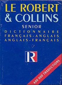 DICTIONNAIRE FRANCAIS-ANGLAIS ANGLAIS-FRANCAIS SENIOR