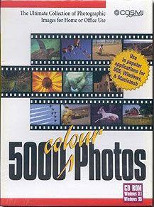 5000 COLOUR PHOTOS