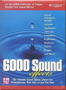 6000 SOUND EFFECTS
