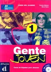 GENTE 1 LIBRO DEL ALUMNO ( CD) N/E (JOVEN)
