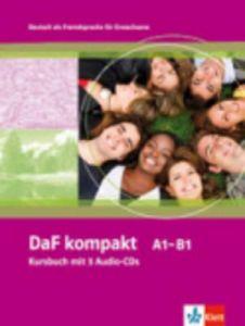 DAF KOMPAKT A1-B1 KURSBUCH MIT 3 AUDIO CDS