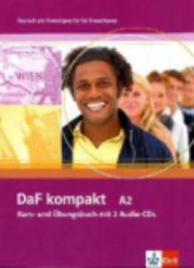 DAF KOMPAKT A2 KURS UND UBUNGSBUCH MIT 2 ADIO CDS