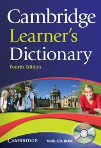 CAMBRIDGE LEARNERS DICTIONARY FOURTH EDITION
