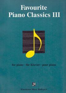 FAVOURITE PIANO CLASSICS IΙΙ