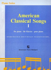 AMERICAN CLASSICAL SONGS I