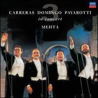 CARRERAS DOMINGO PAVAROTTI / IN CONCERT - LP