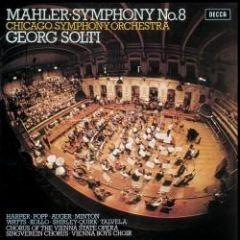 MAHLER SOLTI / SYMPHONY N0 8 - LP 180gr