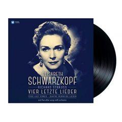 ELISABETH SCHWARZKOPF / RICHARD STRAUSS VIER LETZTE LIEDER - LP 180gr