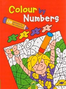 COLOUR BY NUMBERS RED