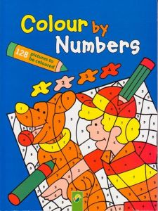 COLOUR BY NUMBERS BLUE