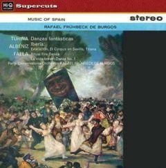 DE BURGOS / TURINA ALBENIZ FALLA  MUSIC OF SPAIN - LP 180gr