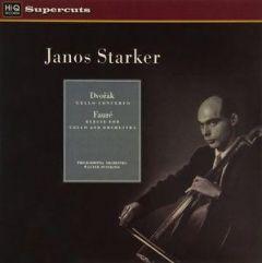 DVORAK FAURE STARKER / CELLO CONCERTO ELEGIE FOR CELLO & ORCHESTRA - LP 180gr