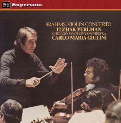 BRAHMS PERLMAN GIULINI / VIOLIN CONCERTO - LP 180gr