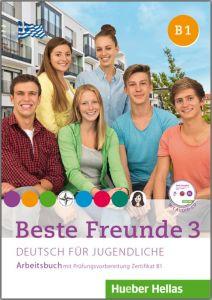 BESTE FREUNDE 3 B1 ARBEITSCHBUCH   CD