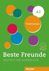 BESTE FREUNDE 2 A2 TESTTRAINER   AUDIO CD