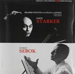BRAHMS STARKER SEBOK /  SONATAS FOR CELLO AND PIANO NOS 1 & 2 - LP 180gr