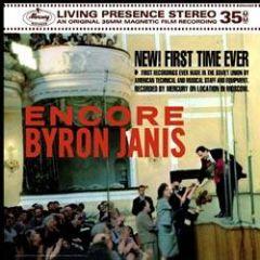 BYRON JANIS / ENCORE - LP 180gr