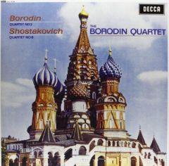 BORODIN QUARTET / BORODIN SHOSTAKOVICH  STRING QUARTETS - LP 180gr
