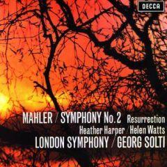 MAHLER SOLTI / SYMPHONY NO 2 - 2LP 180gr