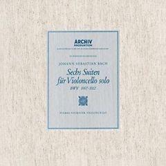 JS BACH FOURNIER /  6 SUITES FOR VIOLONCELLO - 3LP 180gr  DEL EDIT