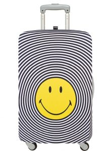 SMILEY SPIRAL LUGGAGE COVER MEDIUM