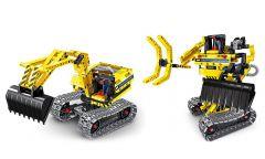 2 IN 1 CONSTRUCTION EXCAVATOR & ROBOT 342 TEM